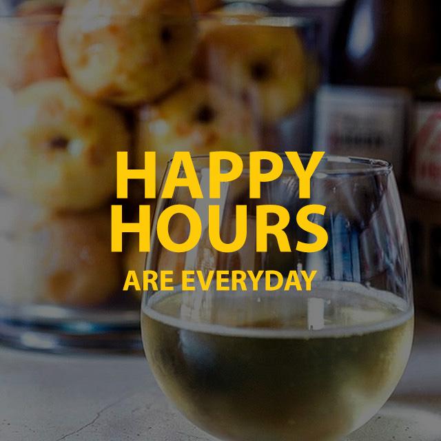 Happy Hours Are Everyday