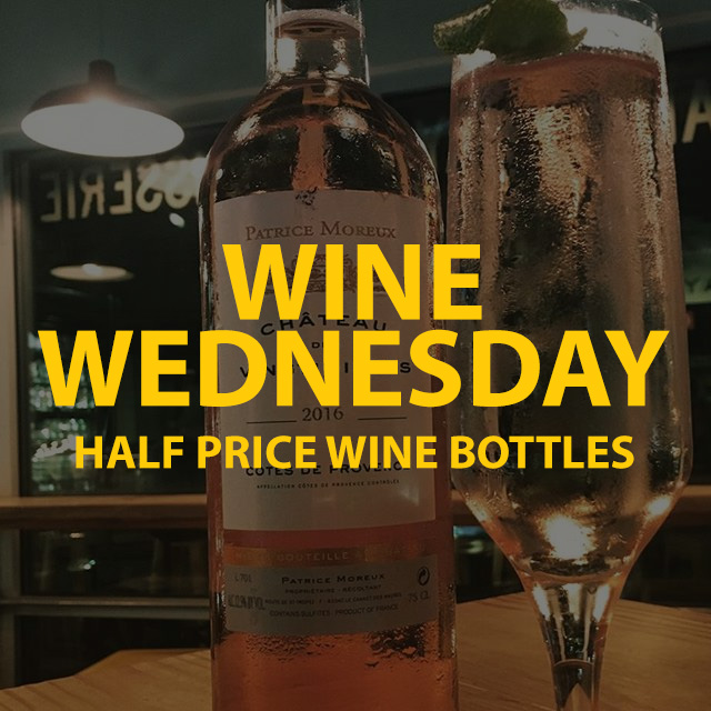 Wine Wednesday Discount On WIne
